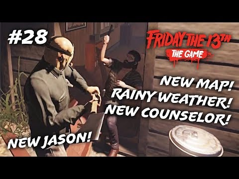 NEW PART 4 JASON ALL KILLS! (Friday the 13th: The Game #28)