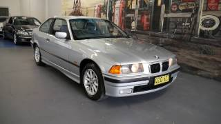 BMW 318iS 1997 E36 Coupe