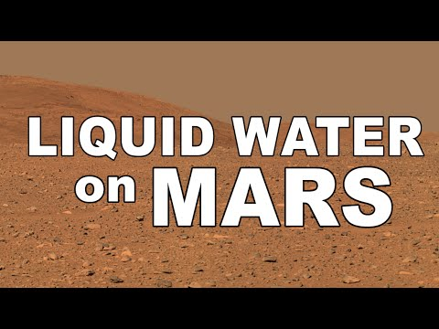 What Makes Liquid Water on Mars Possible?