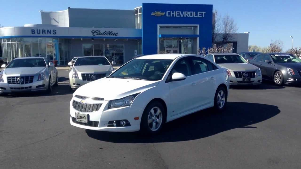 Cruze 2013 chevy cruze ltz for sale : 2013 Chevrolet Cruze LT RS Summit White, Burns Chevrolet Rock Hill ...