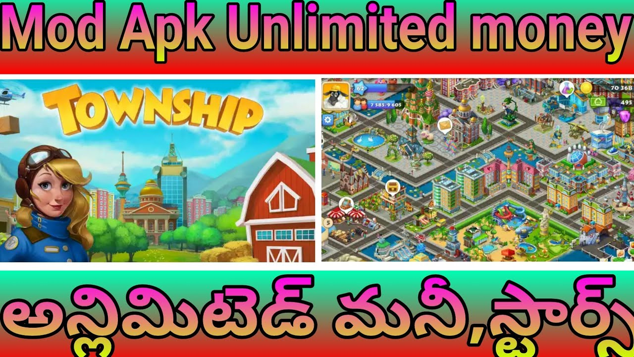 Telugu Township Mod Apk Unlimited Money And Stars No Root
