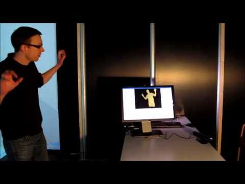 3D CAVE: Xbox Kinect