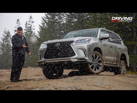 2021 Lexus LX 570 SUV Review and Off-Road Test
