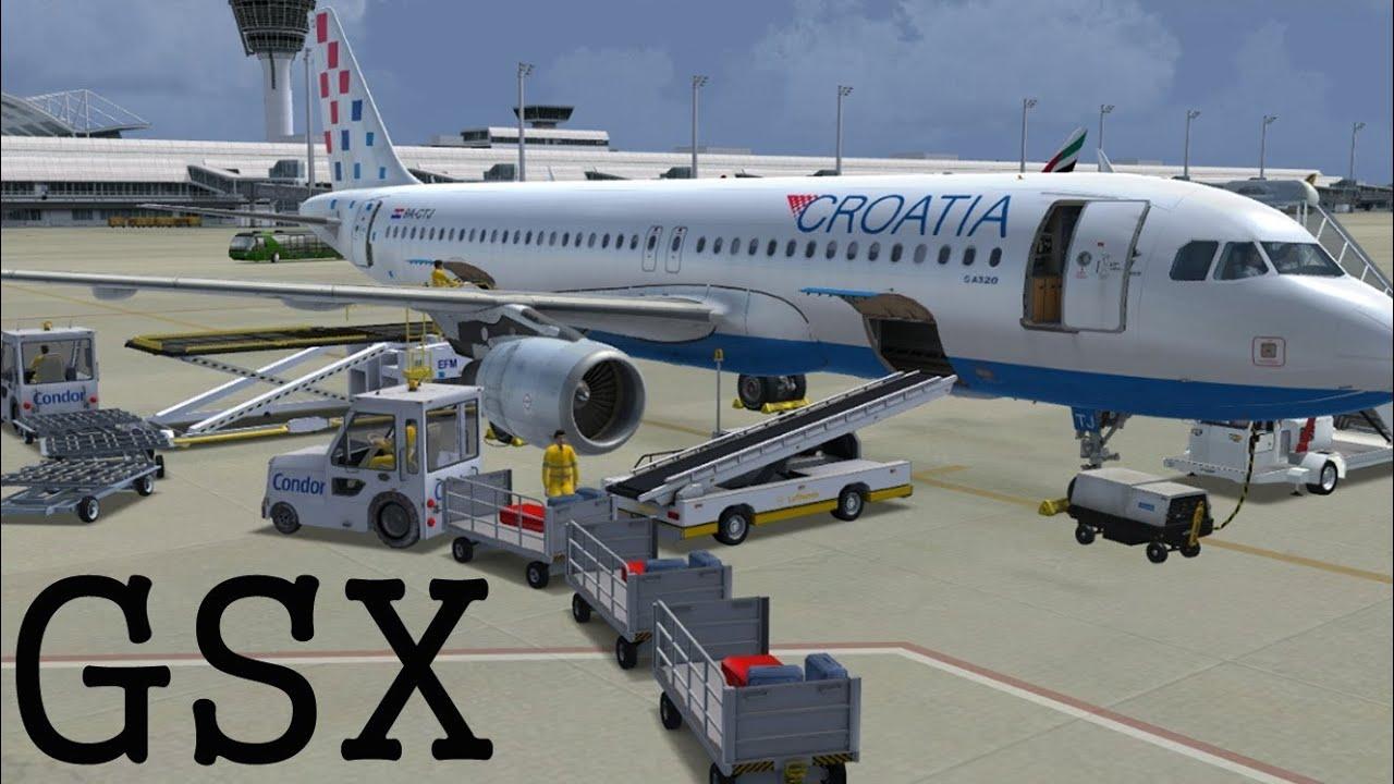 FSDreamTeam - GSX Ground Services X FSX HD