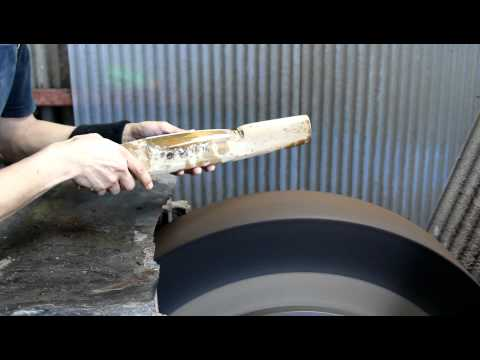 Japan Trip 2012- Knife Maker Video #3