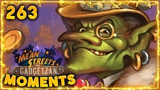 Auctionmaster Beardo OTK!! | Hearthstone Gadgetzan Daily Moments Ep. 263 (Funny and Lucky Moments)