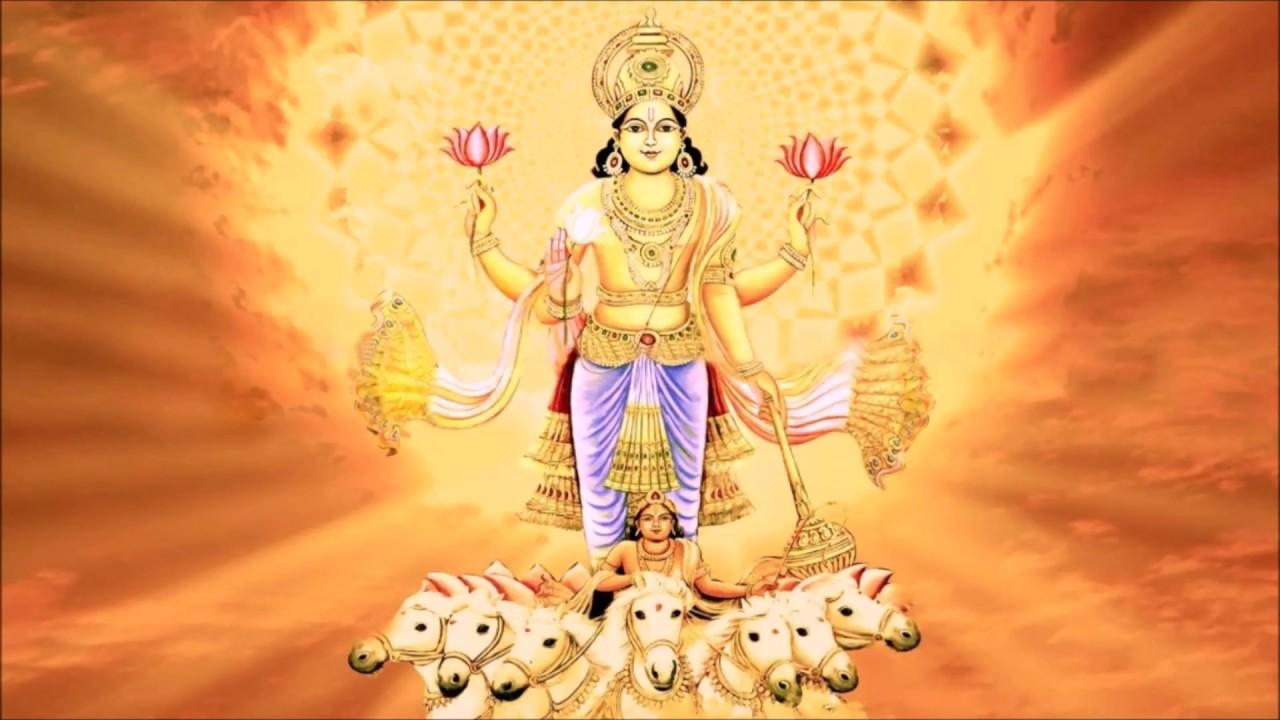 Worshiping Hindu God