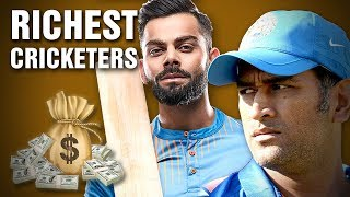The Richest Cricket Players in the World