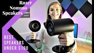 Razer Nommo Speakers – Review of the best desktop speakers!