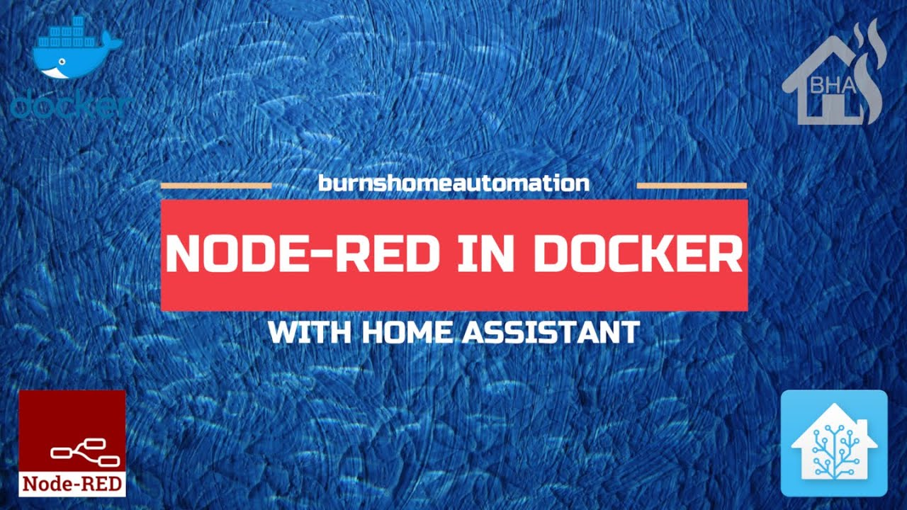 Node Red in Docker with Home Assistant