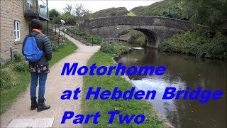 054 - A visit to Mytholmroyd and Hebden Bridge, October 2018