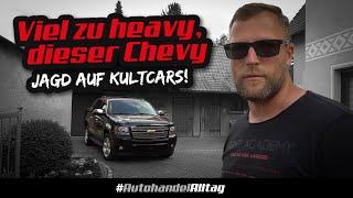 Interessent droht am Telefon | Chevrolet Avalanche 5.3 V8 im Jahreswagen-Zustand | Jagd auf Kultcars
