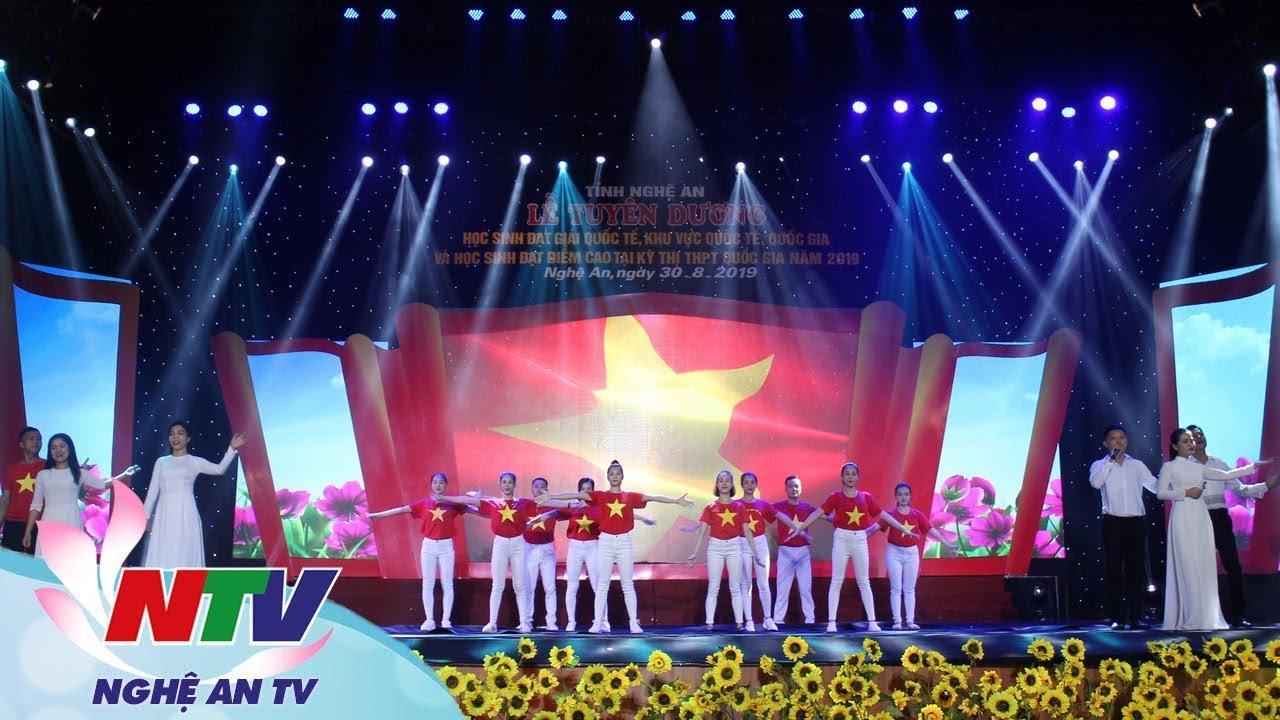 Lễ tuyên dương học sinh đạt giải quốc tế, quốc gia và đạt điểm cao tại kỳ thi THPT Quốc gia năm 2019