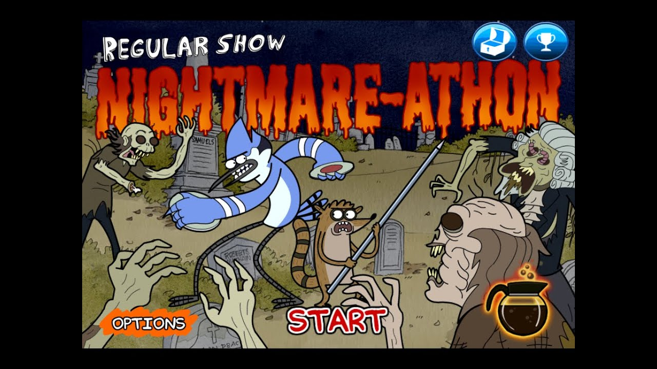 Regular Show Game | Just a Regular Game | Cartoon Network