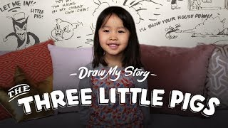 The Three Little Pigs (Suvi) | Draw My Story | HiHo Kids