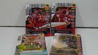 Unboxing: Power Rangers ACG - Forever Red Rangers Promo Packs