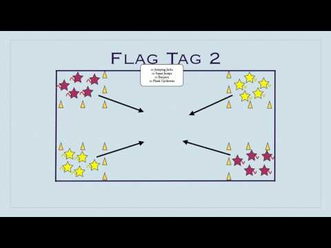 Physed Games - Flag Tag 2