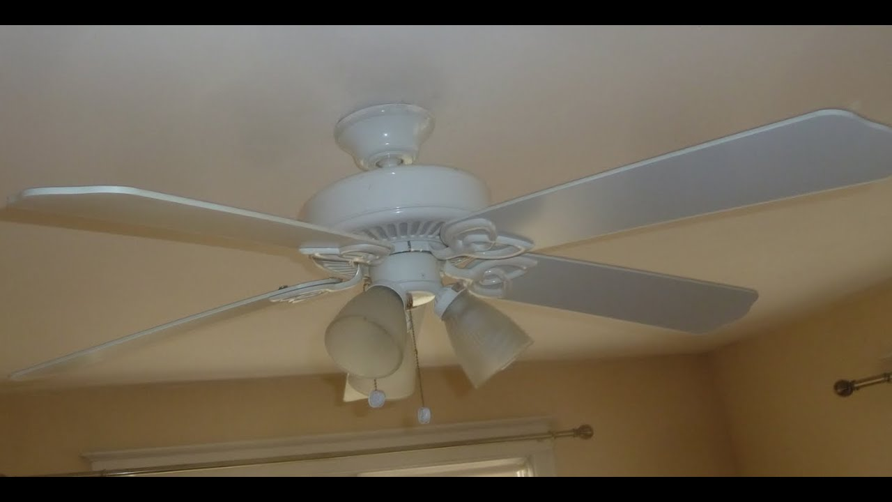 Hampton bay huntington ii ceiling fan youtube hampton bay huntington ii ceiling fan audiocablefo