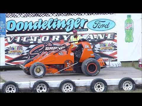 Grand Rapids Speedway- Northern Renegade Sprint Cars-June 20 2019