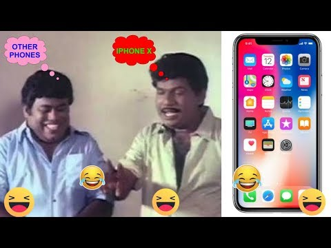 Download Youtube: IPhone X Features - Goundamani and Senthil Version Troll Video | PhoenixComedyNews