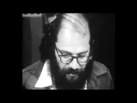Allen Ginsberg reads Kral Majales. City Lights Bookstore NY May 1965.