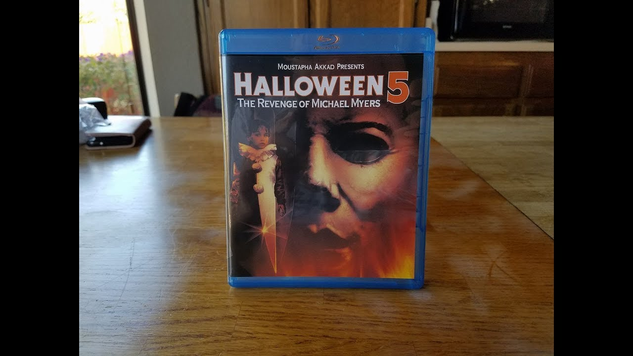 Halloween 5 Blu Ray.Halloween 5 The Revenge Of Michael Myers Blu Ray Unboxing