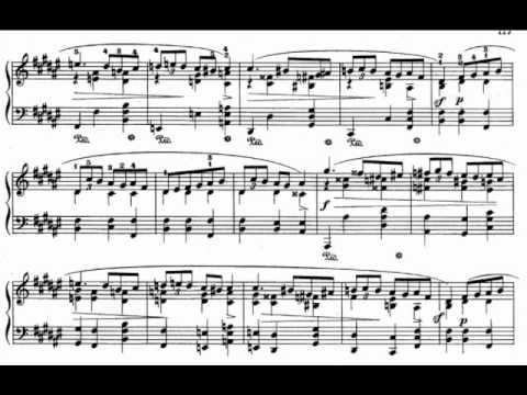 Mazurka in f sharp minor op. 59 n°3 by F. Chopin (Horowitz)