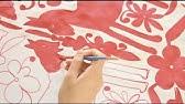 DIY Otomi Fabric, ThreadBanger How-to