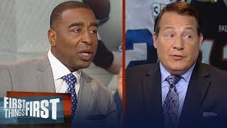 Eric Mangini previews Colts vs. Patriots on Thursday Night Football | NFL | FIRST THINGS FIRST