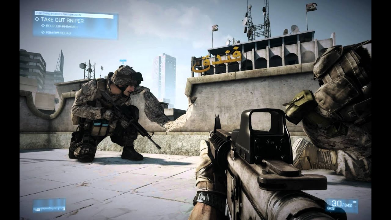Battlefield 3 - PC SP Gameplay Max Settings - YouTube