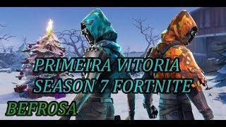 PRIMEIRA VITORIA SEASON 7, SKIN ZENITE (FORTNITE BATTLE ROYALE)