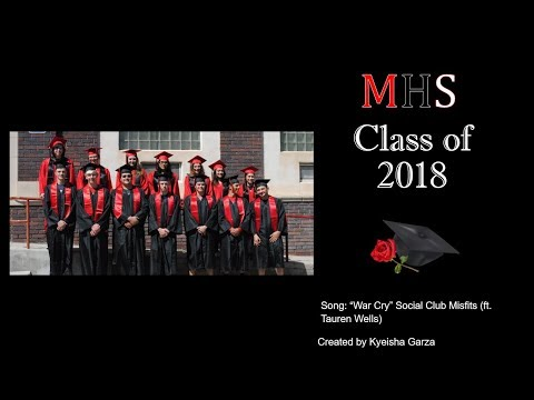 Minatare High School 2018 Graduation Video
