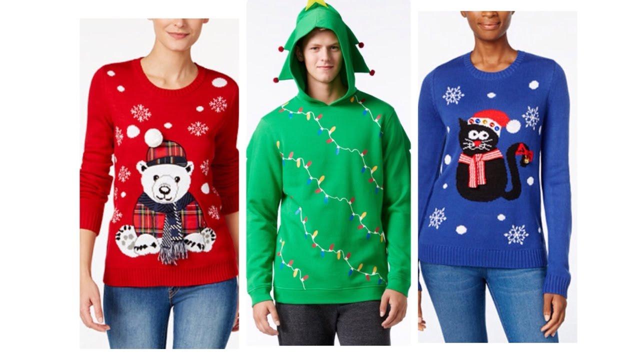 Macys Christmas Sweaters.Ugly Christmas Sweater Macy S