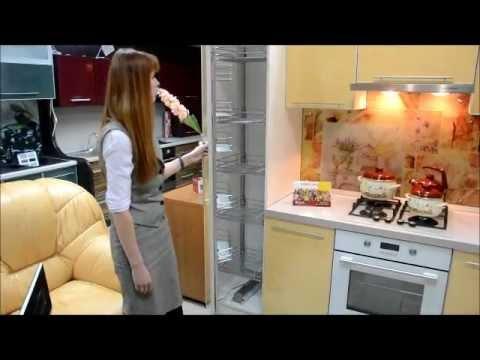 Кухня пластик угловая