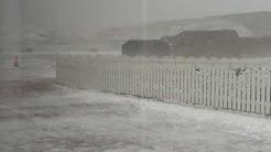 Skeld Shetland snowstorm
