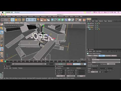 C4D Tutorial: Mograph Selection and Deleting Individual Clones