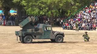 陸上自衛隊第1高射特科大隊による93式近距離地対空誘導弾による訓練展示  陸上自衛隊第1師団創立56周年/練馬駐屯地67周年記念行事 JGSDF 1st Division SAM Launcher