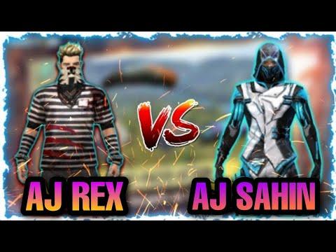AJ REX vs AJ SAHIN    PRO vs PRO    Custom clash squad gameplay    Must watch   