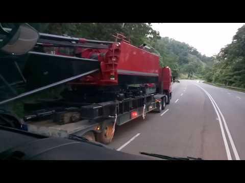 Trip Shah Alam to Tanah Merah. Perjalanan Kobelco 7150. Part 5
