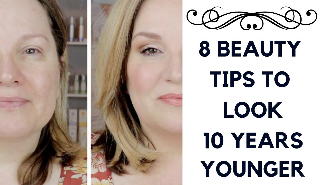 11 SIMPLE BEAUTY TIPS TO LOOK 11 YEARS YOUNGER / YOUR NATURAL BEAUTY over 11