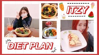 I TRIED ITZY DIET FOR 24H