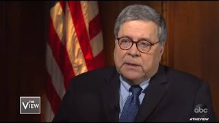Barr Gripes Over Trump's Tweets | The View