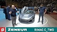 RIMAC C_TWO - brutálny elektromobil za 1.800.000 eur - GARAZ.TV - Ženeva 2018