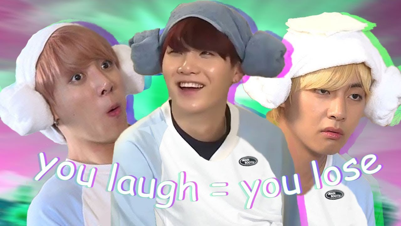 Bts Try Not To Laugh Challenge Hard Youtube