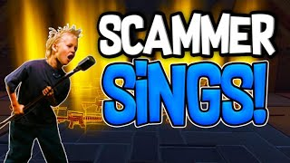 Scammer SINGS For his WHOLE INVENTORY Back! In fortnite save the world pve
