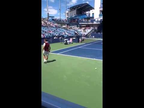Cincinnati Tennis Tournament 2013