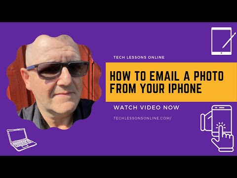 How to send pictures from iphone 6 to email address