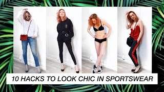 10 Hacks to Look Chic and Classy in Sportswear | ATHLEISURE thumbnail