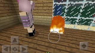 Mangle Turns Human | Minecraft fnaf Roleplay