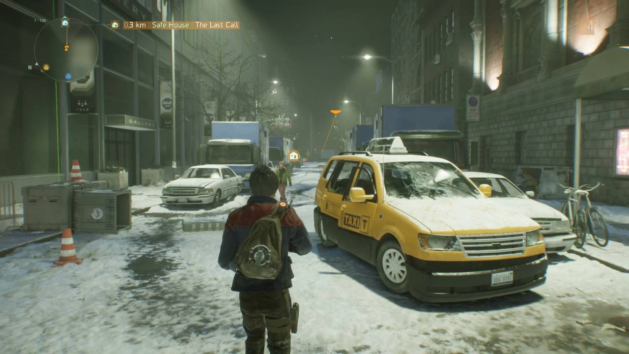 How Big is the Map of The Division Walk Across the Map Part 3